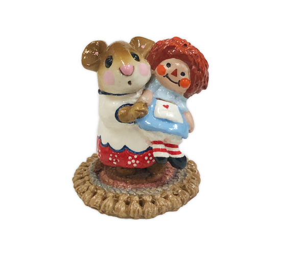 Me and Raggedy Ann (White Special) M-070 by Wee Forest Folk®