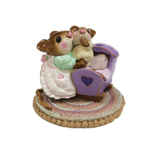 Beddy-Bye Mousey M-069 (Lavender Special) by Wee Forest Folk®