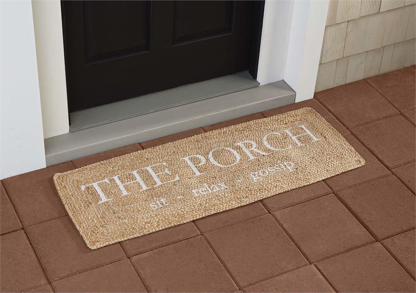 Porch Door Mat by Mudpie