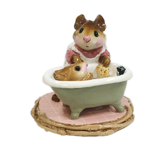 Mom & Squeaky Clean M-060 (Pink) by Wee Forest Folk®