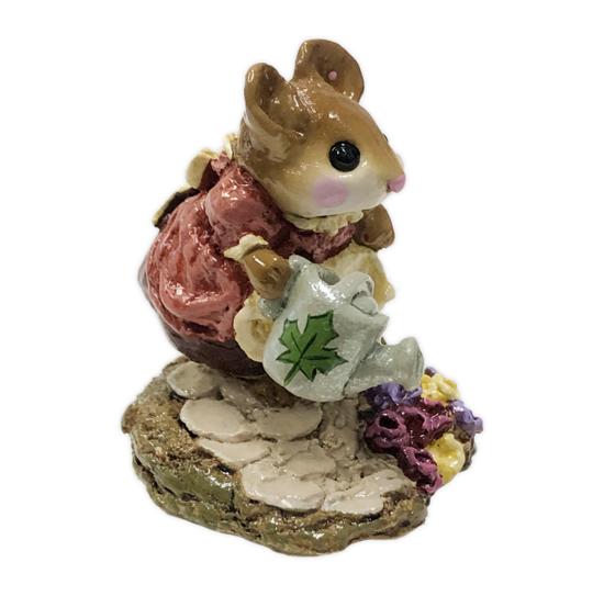 Spring Gardener M-111 (Burgundy Special) By Wee Forest Folk®