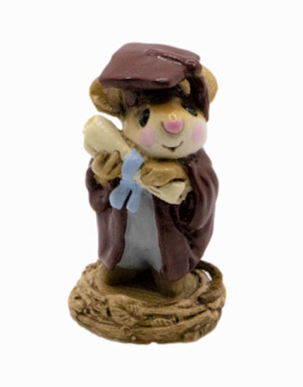 Graduate Mouse M-058 (Maroon Special) by Wee Forest Folk®