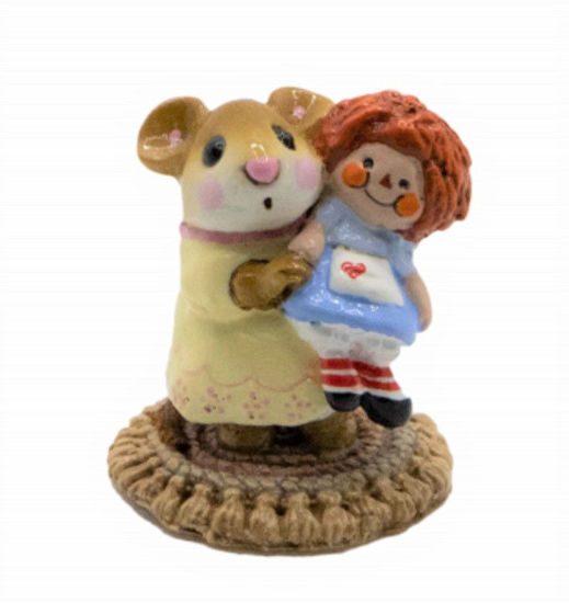 Me and Raggedy Ann M-070 by Wee Forest Folk®