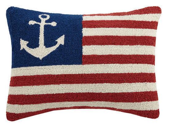 Anchor American Flag by Peking Handicraft