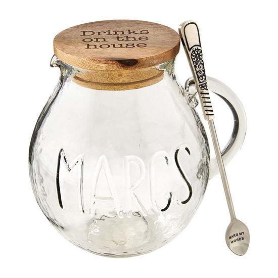 Glass Margarita Pitcher Set by Mudpie