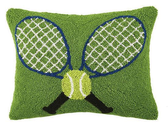 Crossed Tennis Racquets by Peking Handicraft