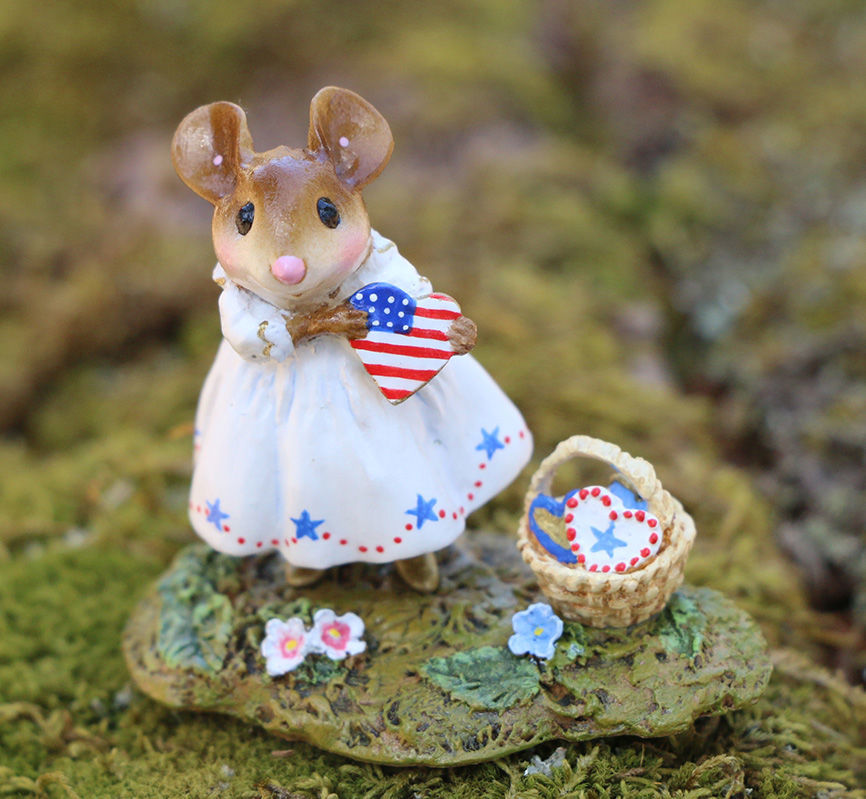 My Country Heart M-499c by Wee Forest Folk