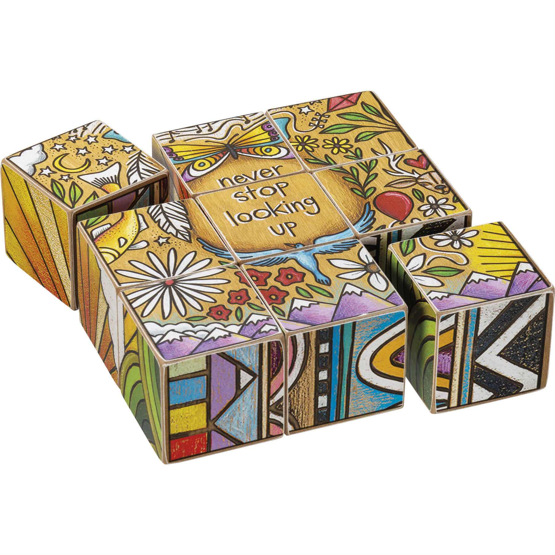 Adventure Block Puzzle by Primitives by Kathy