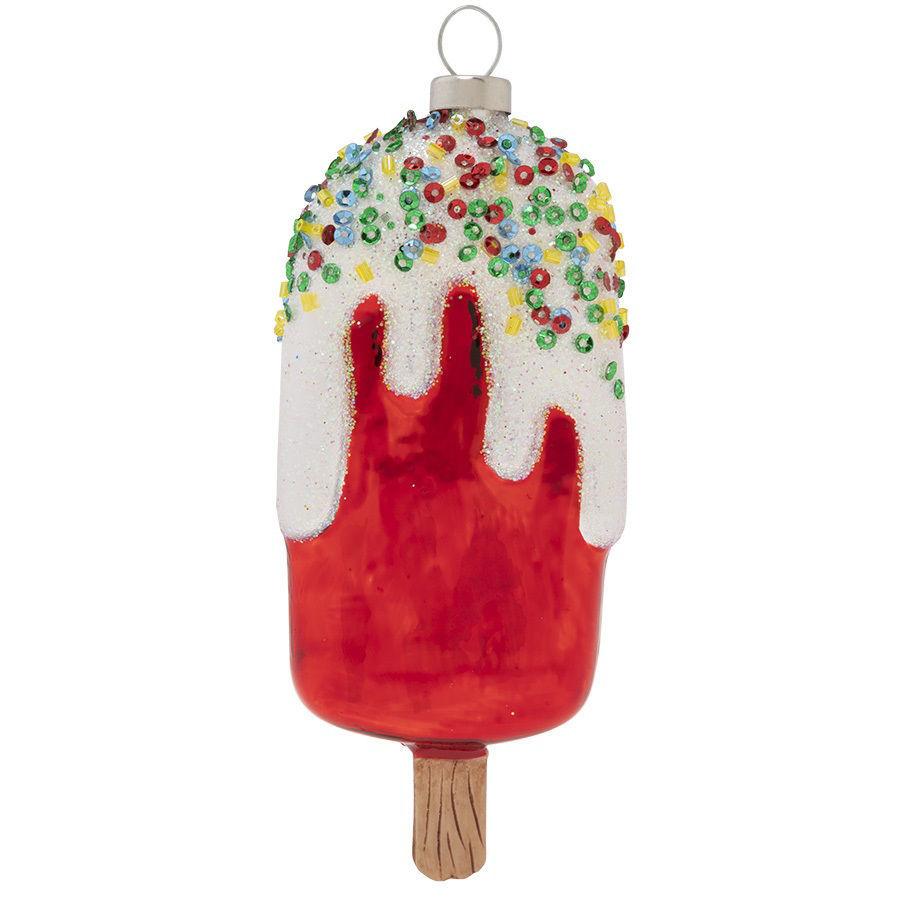 Sweet Ice Cream Pop Ornament by Kat + Annie