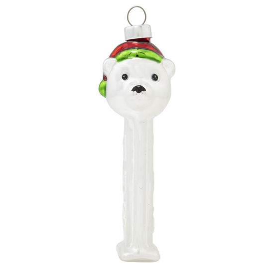 Polar Bear PEZ Dispenser Ornament by Kat + Annie