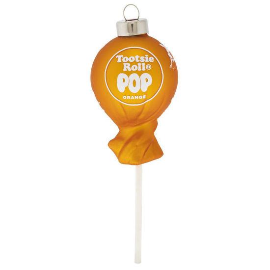 Orange Tootsie Roll Pop Ornament by Kat + Annie