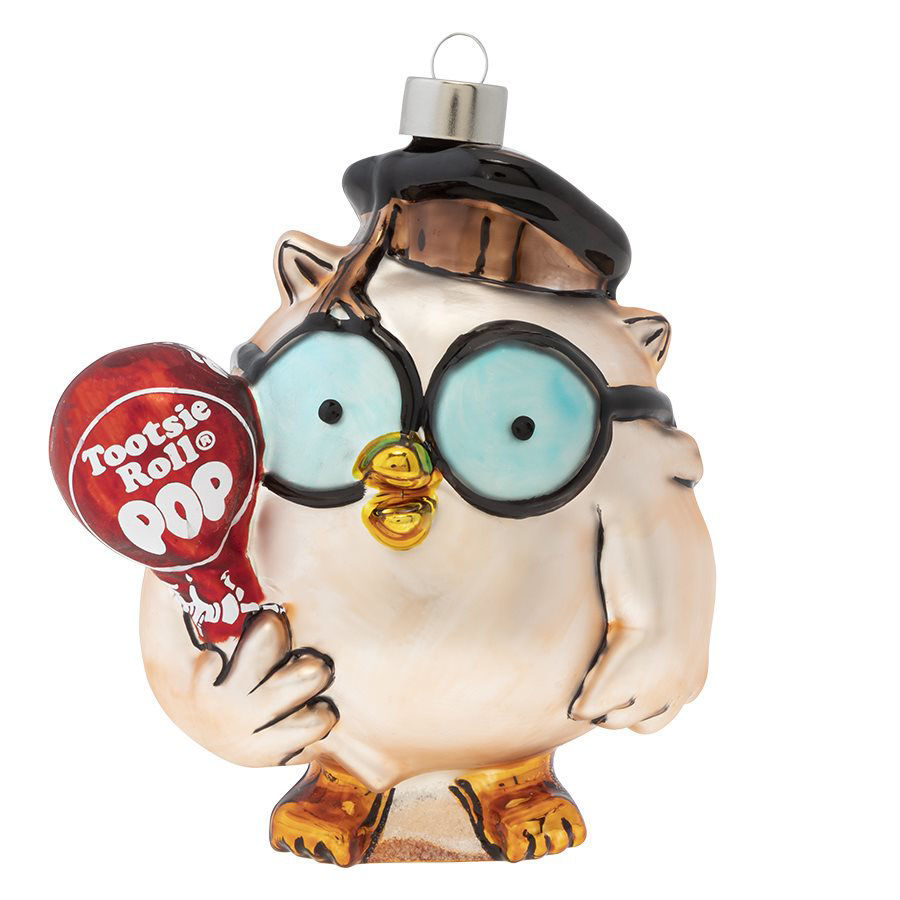 Tootsie Pop Mr. Owl Ornament by Kat + Annie