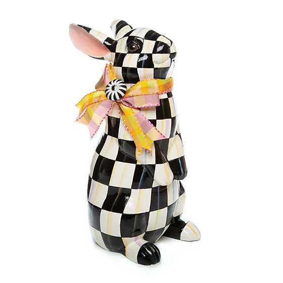 Courtly Check Standing Bunny by MacKenzie-Childs