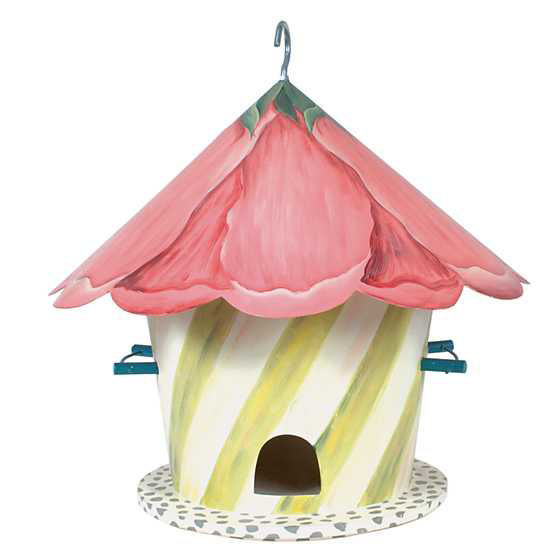 Hollyhock Birdhouse by MacKenzie-Childs