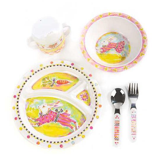 Bunny Toddler's Dinnerware by MacKenzie-Childs