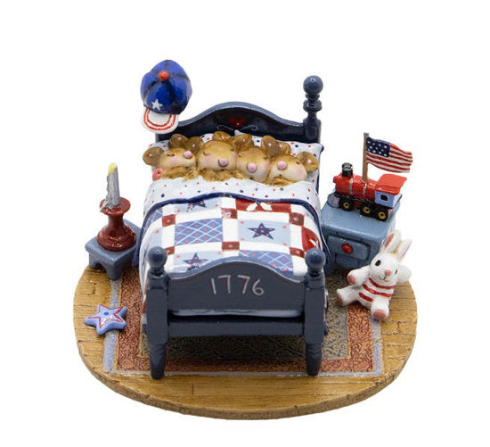 Star Spangled Snoozers M-514a by Wee Forest Folk®