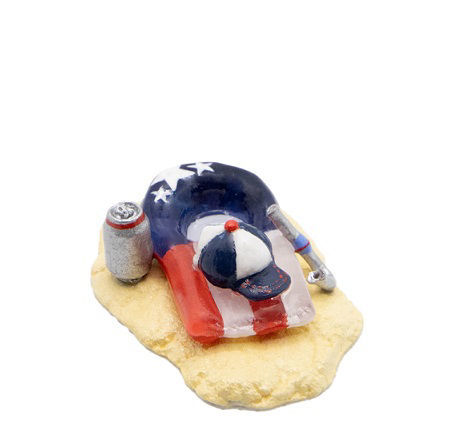 Red, White, & Blue Float A-61 by Wee Forest Folk®
