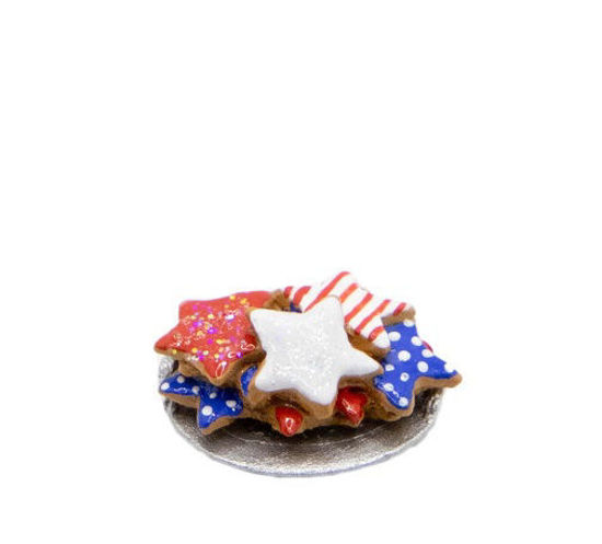 Tiny Patriotic Cookies 017 by Wee Forest Folk®