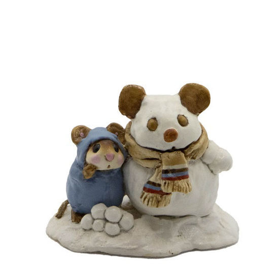 Snowmouse & Friend M-084 (Blue) by Wee Forest Folk®