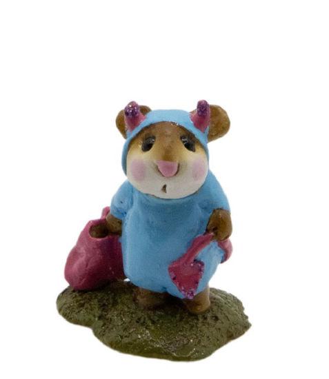 Little Devil M-061 (Aqua w/Pink Special) By Wee Forest Folk®
