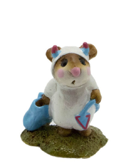 Little Devil M-061 (White w/Aqua Special) By Wee Forest Folk®
