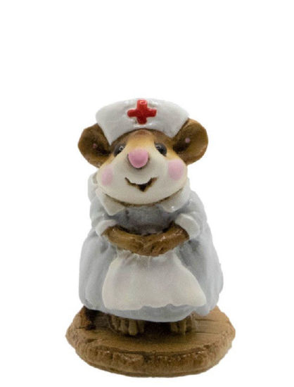 Mousey Nurse M-095 (Gray) by Wee Forest Folk®