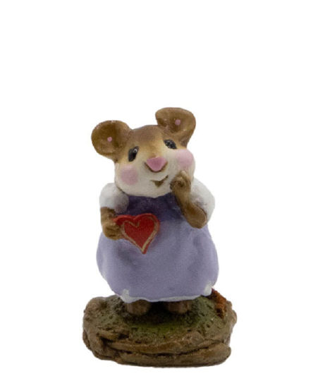 Girl Sweetheart M-080 (Lavender) by Wee Forest Folk®