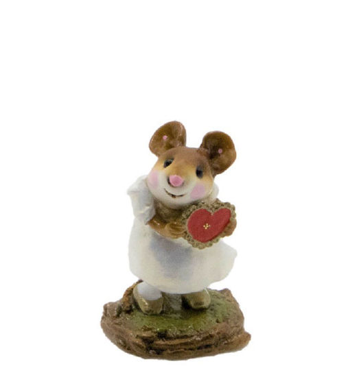 I'm Yours M-080b (White w/Gold) by Wee Forest Folk®