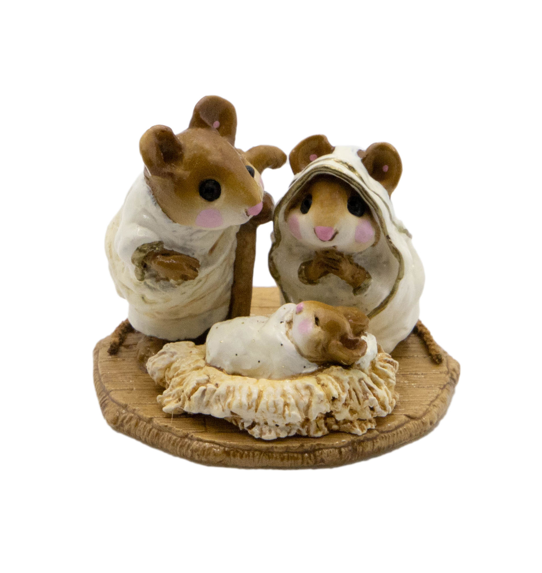 Chris-Mouse Pageant M-117 (White Special) by Wee Forest Folk®