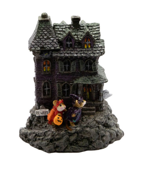 Haunted House M-165 (Purple) by Wee Forest Folk®
