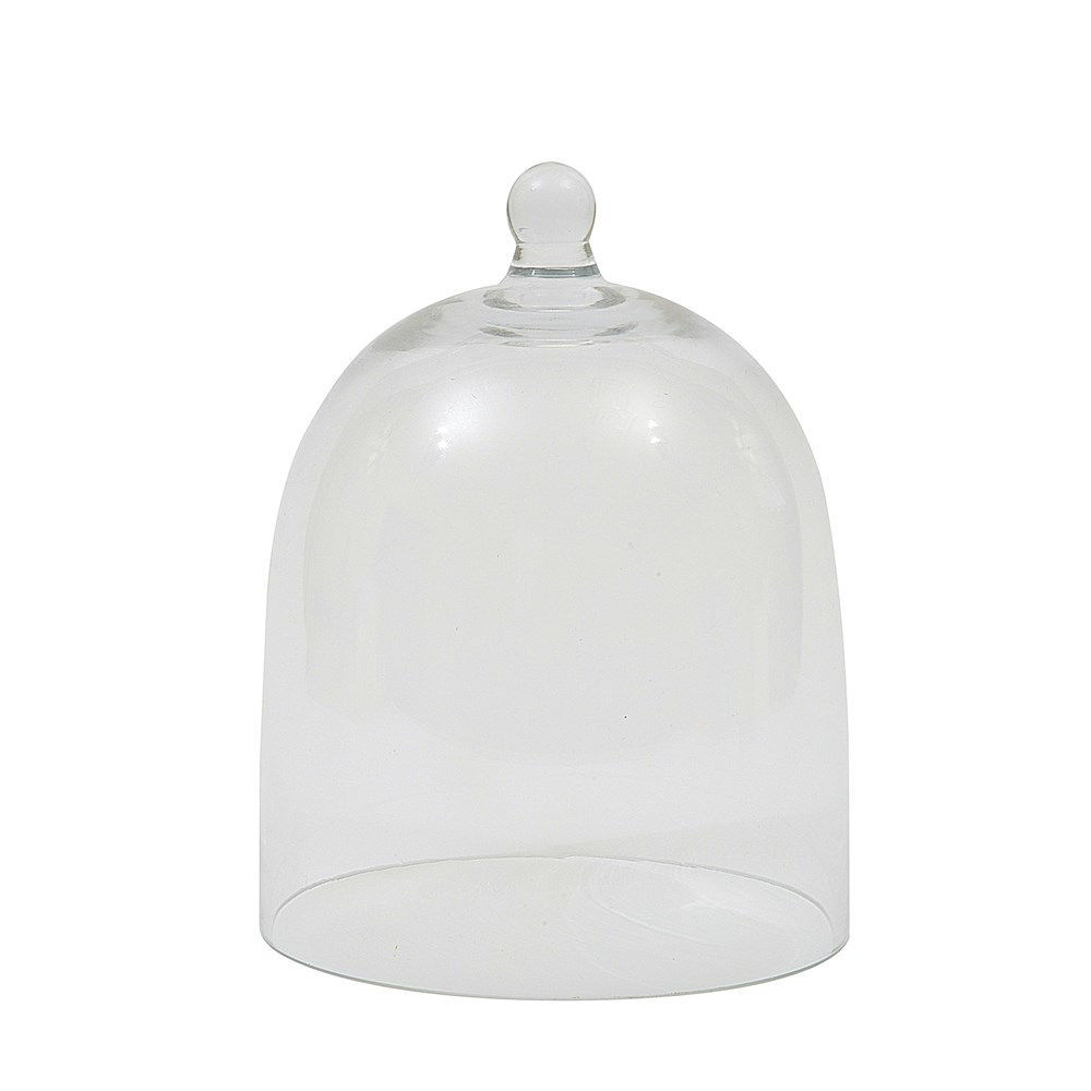 """5"""" Round x 7""""H Glass Cloche by Creative Co-op"""