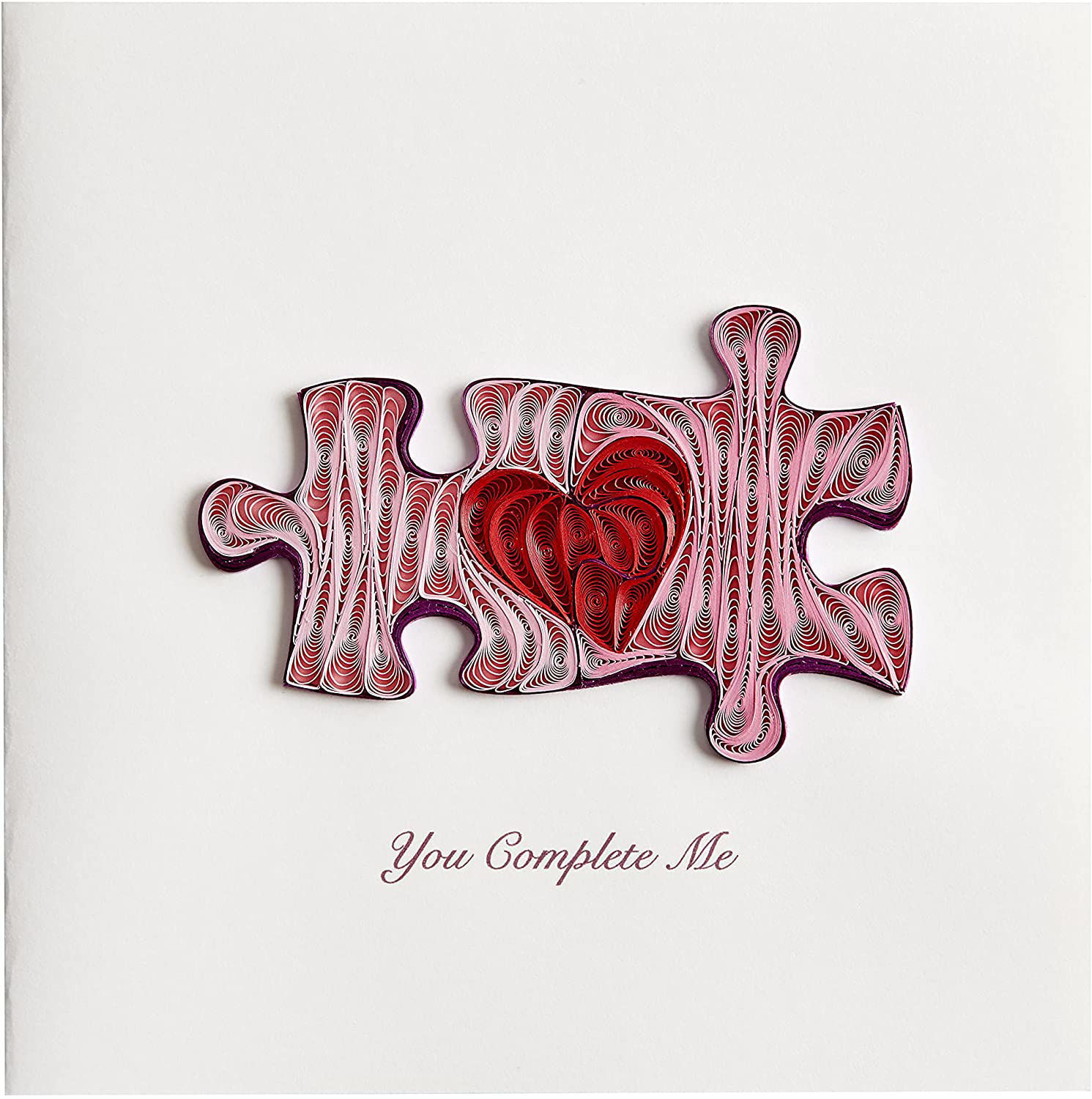 Puzzle Pieces Anniversary Card by Niquea.D