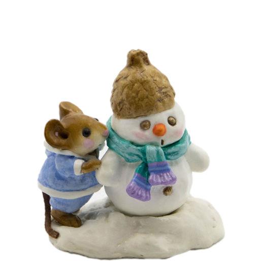 Snow Buddies M-188 (Blue w/Teal) by Wee Forest Folk®