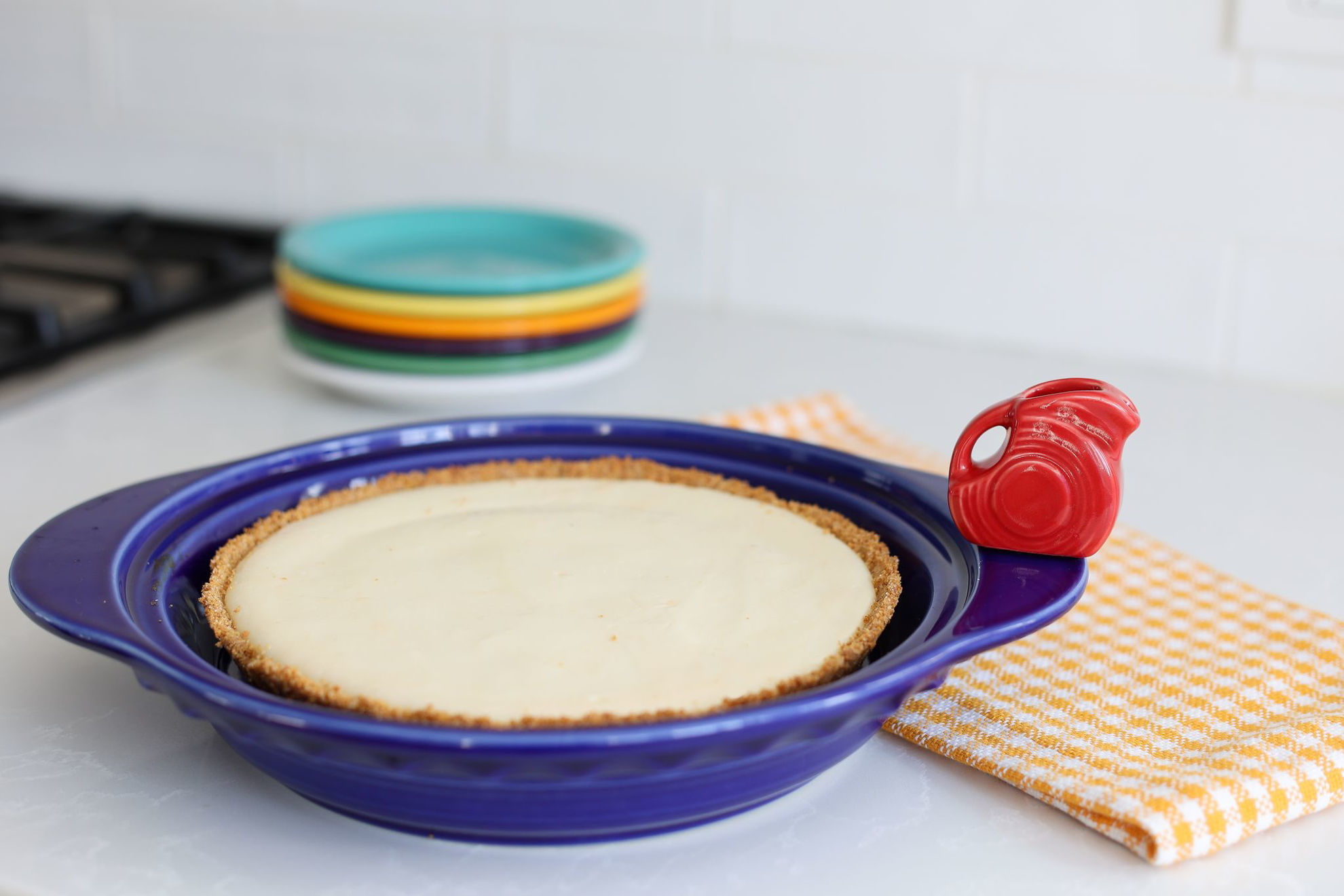 Fiesta Pie Pan with Mini Set by Nora Fleming