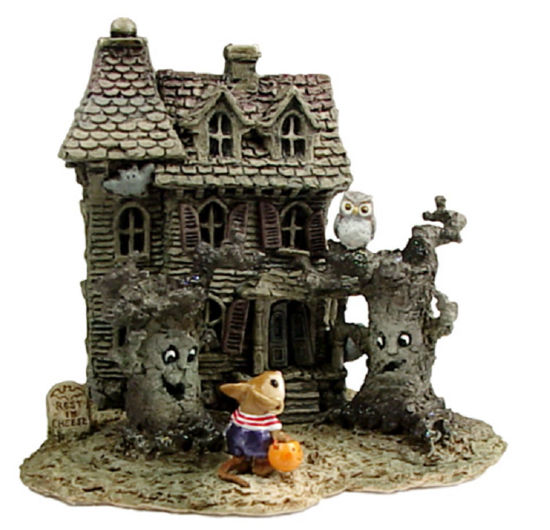 Haunted Mouse House M-165a by Wee Forest Folk®