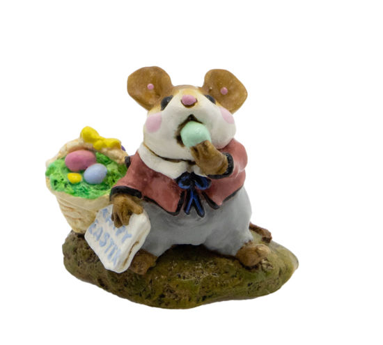 Mousey's Easter Basket M-160 by Wee Forest Folk®