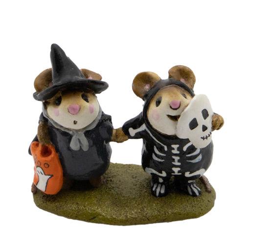 Littlest Witch & Skeleton M-155 by Wee Forest Folk®