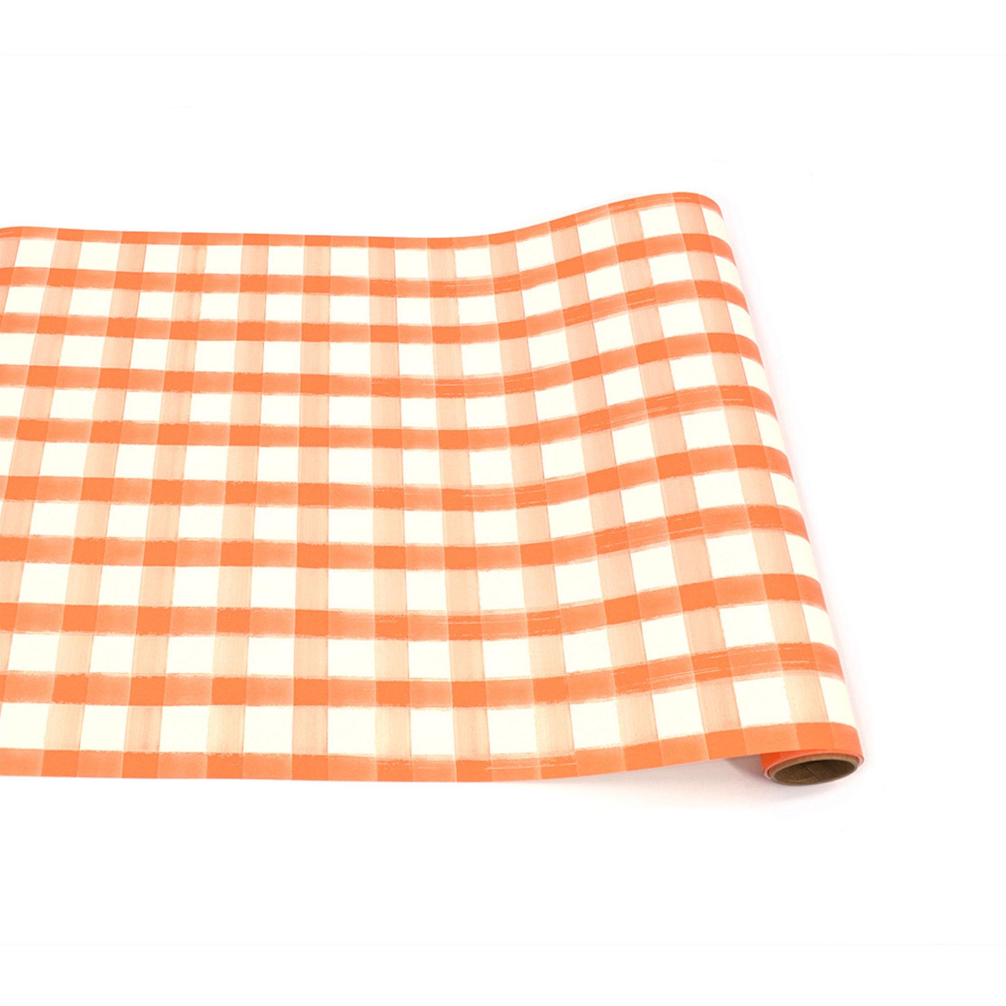 Orange Classic Stripe Runner by Hester & Cook