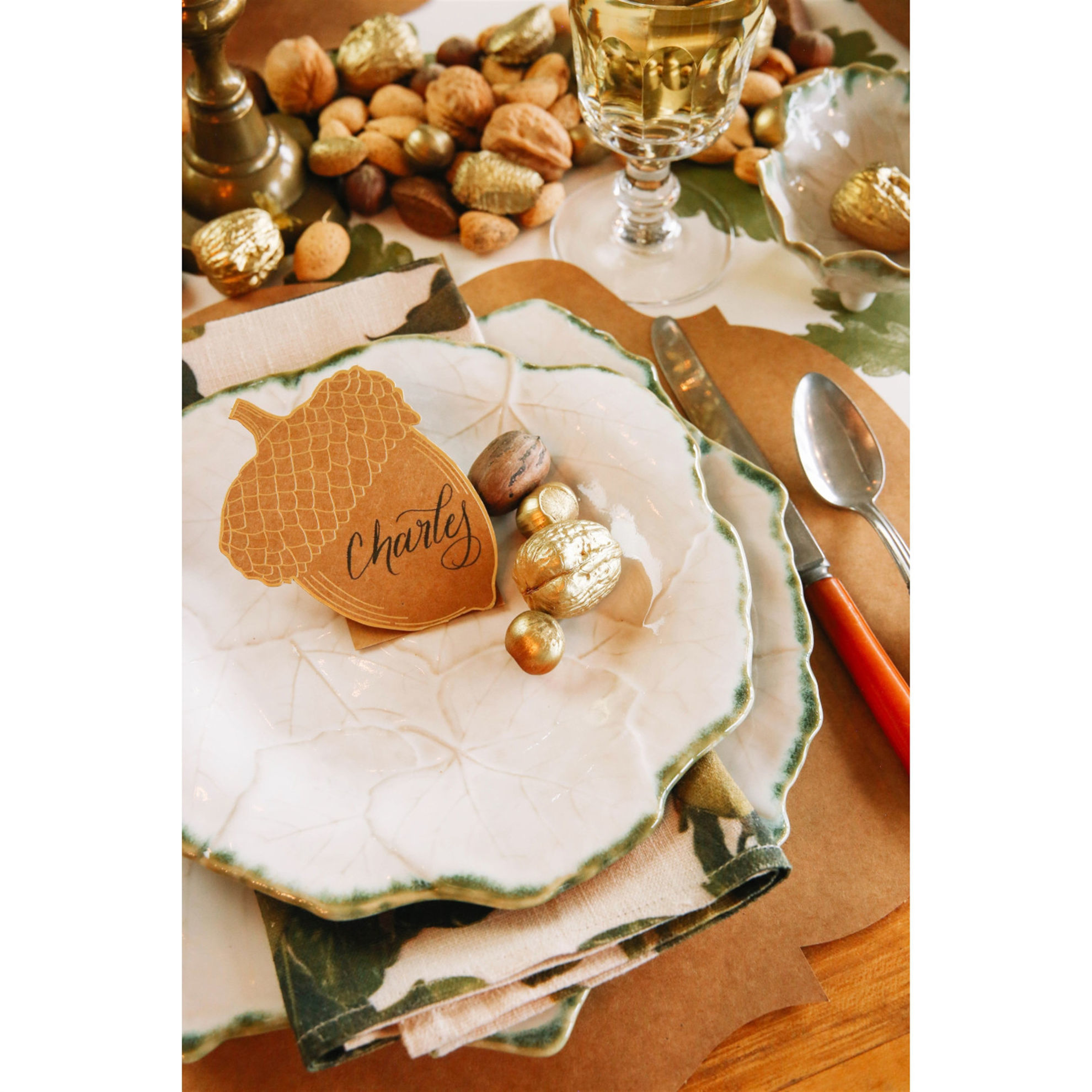 Acorn Place Card by Hester & Cook