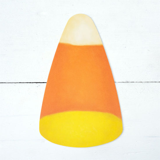Candy Corn Table Accent by Hester & Cook