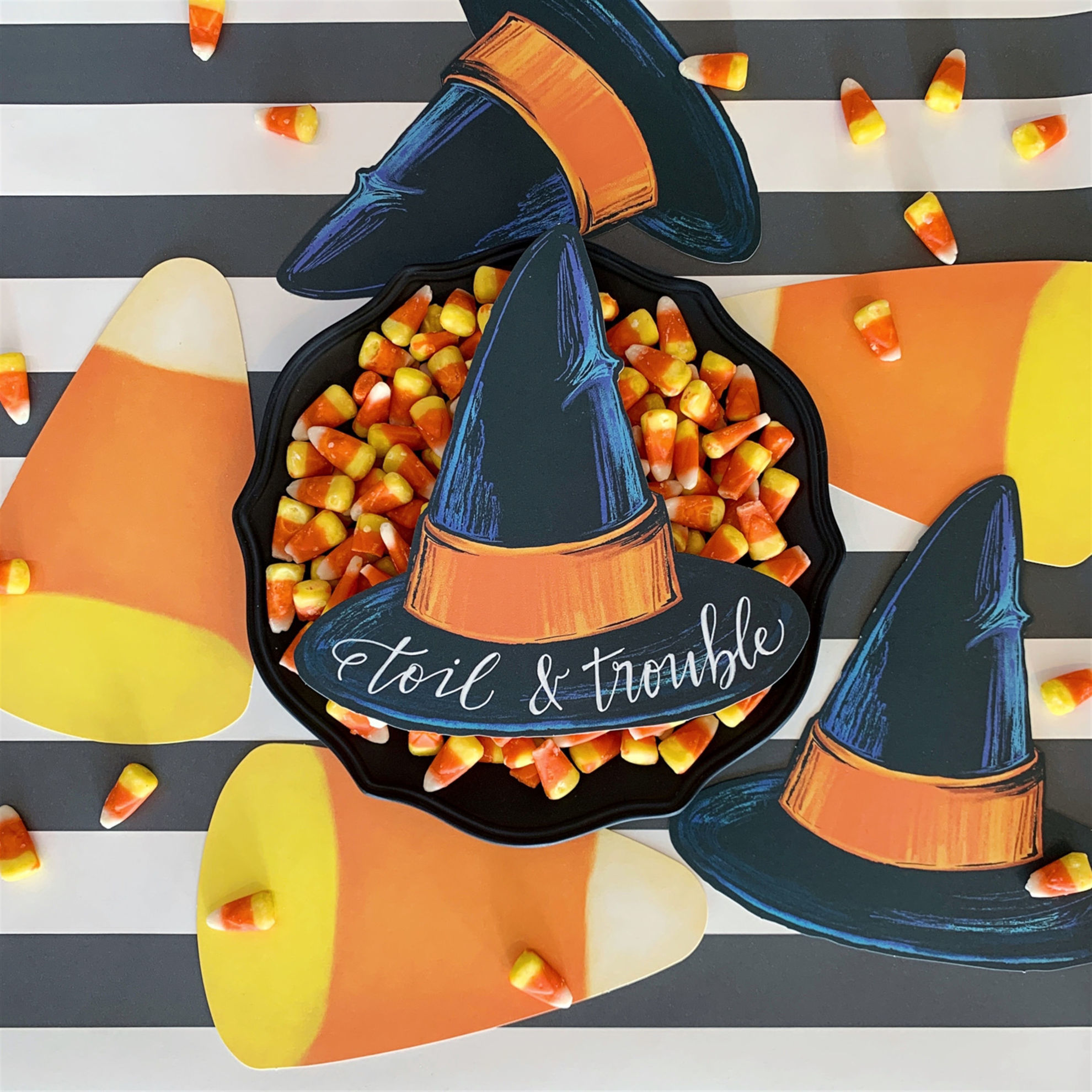 Witch Hat Table Accent by Hester & Cook