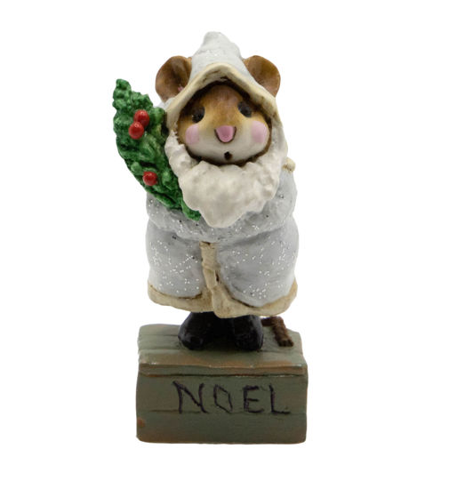 Father Chris-Mouse M-164 (Gray) by Wee Forest Folk®
