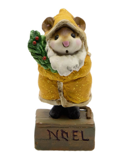 Father Chris-Mouse M-164 (Mustard) by Wee Forest Folk®