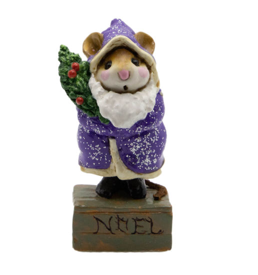 Father Chris-Mouse M-164 (Purple Special) by Wee Forest Folk®