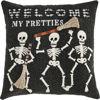 Halloween Canvas Applique Pillows by Mudpie