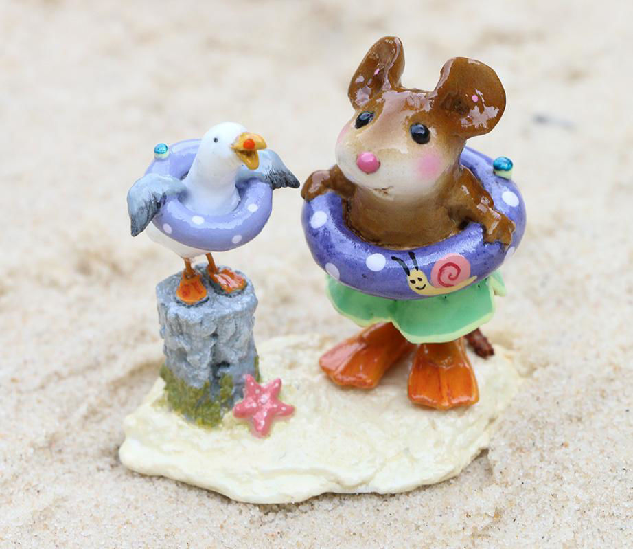 Beach Buddies M-691a (Snail) by Wee Forest Folk®