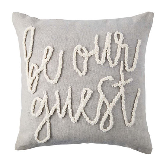 Be Our Guest Pillow by Mudpie