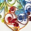 Rainbow Heart Anniversary Card by Niquea.D