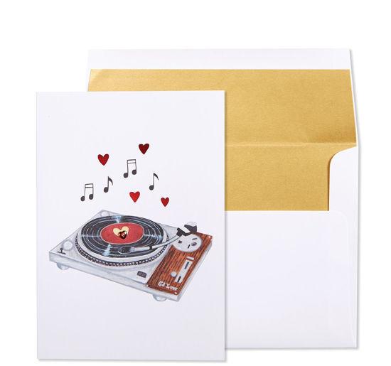Love Vinyl Anniversary Card by Niquea.D