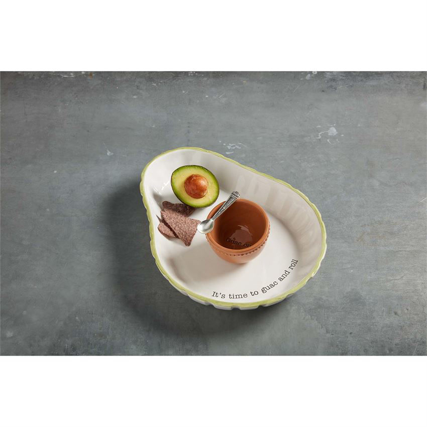 Avocado Chip and Dip Set by Mudpie